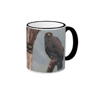 Eagle de oro taza a dos colores