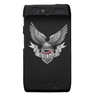 Eagle de plata - cubiertas de Motorola Droid RAZR  Motorola Droid RAZR Funda