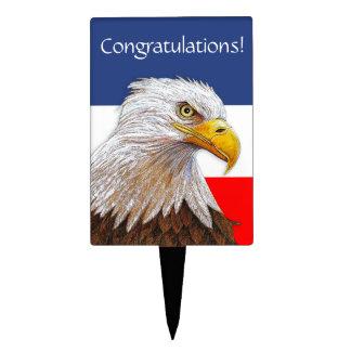 Eagle Decoración Para Tarta