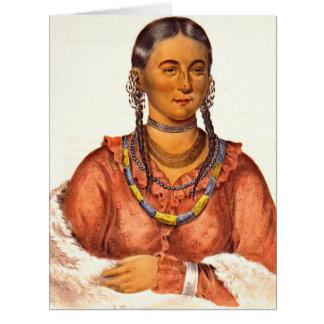 Eagle del placer 1838 tarjeta de felicitación grande