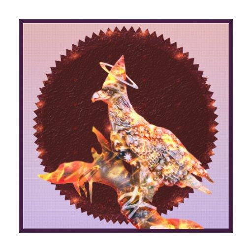 Eagle - № divino 5 del vagabundo impresiones en lienzo estiradas