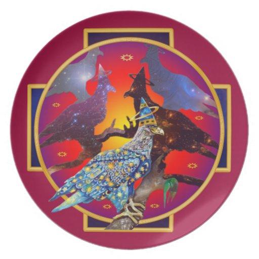 Eagle - № divino 8 del vagabundo platos para fiestas