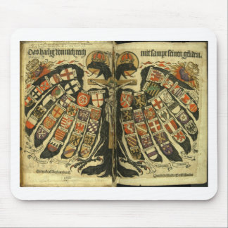 Eagle doble austríaco mouse pad
