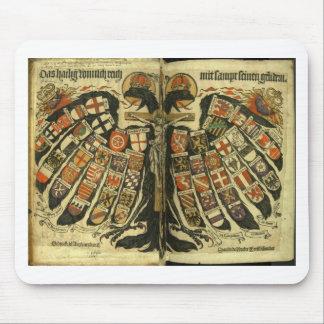 Eagle doble austríaco tapete de ratones