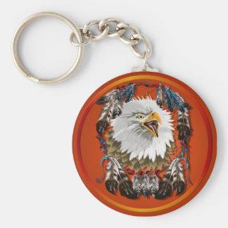Eagle Dreamcatcher Keychain