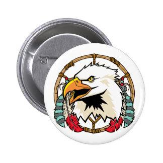 Eagle Dreamcatcher Pinback Button