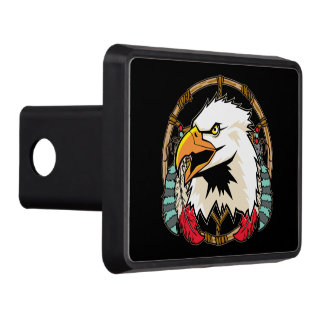 Eagle Dreamcatcher Tow Hitch Covers