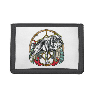 Eagle Dreamcatcher Tri-fold Wallet