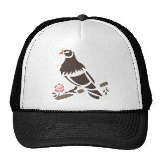 Eagle Eagles Bird Birds Black Art Cartoon Animal Trucker Hat