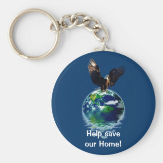 Eagle Earth Day Series Key Chains
