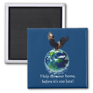 Eagle Earth Day Series Magnet
