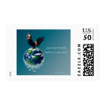 Eagle Earth Day Series Postage