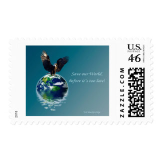 Eagle Earth Day Series Postage Stamp