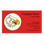 Eagle/emblema de American Eagle Plantillas De Tarjetas Personales