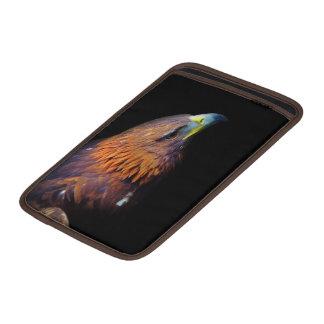 Eagle en fondo negro fundas macbook air