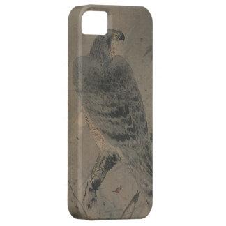 Eagle en una rama del arce funda para iPhone SE/5/5s