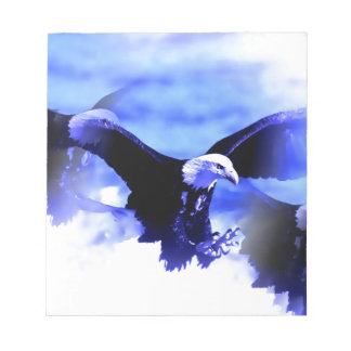 Eagle en vuelo blocs de notas