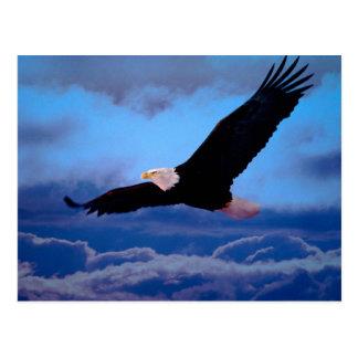 Eagle en vuelo postal
