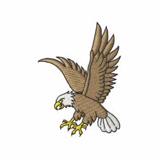 Eagle en vuelo sudadera bordada