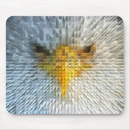 Eagle enojado tapete de ratones