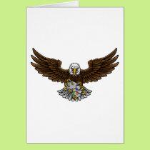 Eagle Esports Sports Gamer Mascot Card