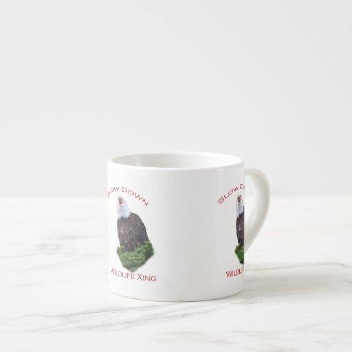 eagle espresso mug