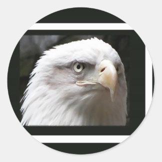Eagle Etiqueta Redonda