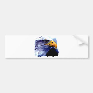 Eagle Eye Bumper Sticker