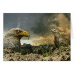 Eagle Eye - Grußkarte