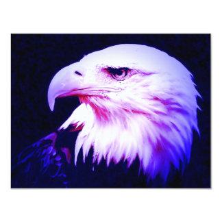 Eagle Eye 4.25x5.5 Paper Invitation Card