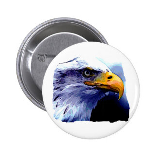 Eagle Eye Pinback Button