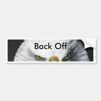Eagle eyes Bumber sticker Bumper Stickers