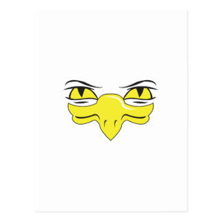 EAGLE FACE 20 POSTCARD
