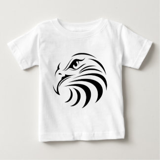 Eagle Face Silhouette Baby T-Shirt