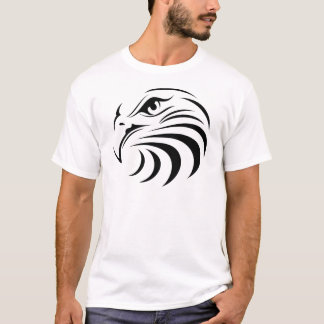 Eagle Face Silhouette T-Shirt