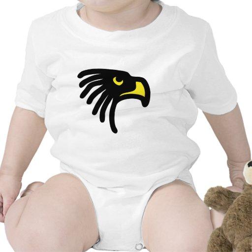 eagle falcon icon baby bodysuit