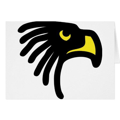 eagle falcon icon card