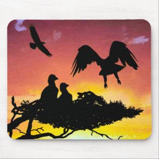 Eagle family mousepads