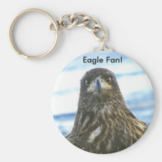 EAGLE FAN KEYCHAIN