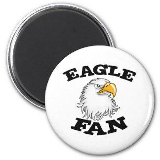 Eagle Fan Refrigerator Magnet