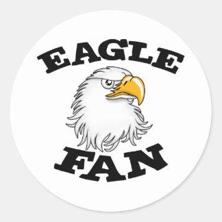 Eagle Fan Sticker