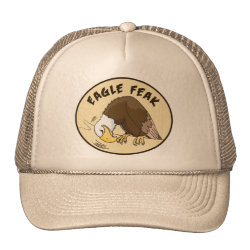 Trucker Hat with Eagle Feak design