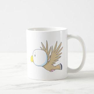 Eagle feliz taza de café