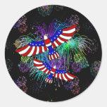 Eagle Fireworks Stickers