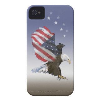 Eagle Flag Blackberry Case
