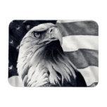 Eagle & Flag Flexible Magnet
