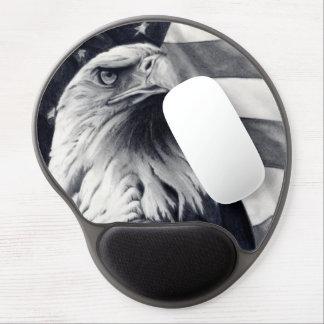 Eagle & Flag Gel Mousepad
