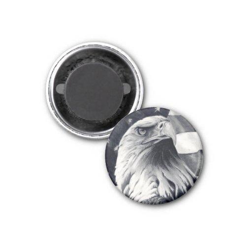 Eagle & Flag Magnet