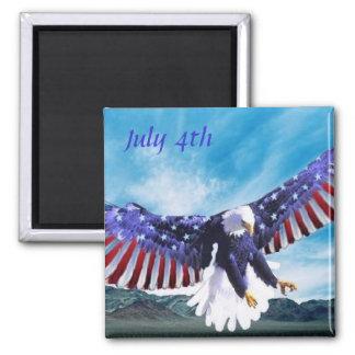 Eagle Flag Magnet