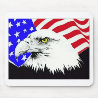 Eagle-Flag Mouse Pad